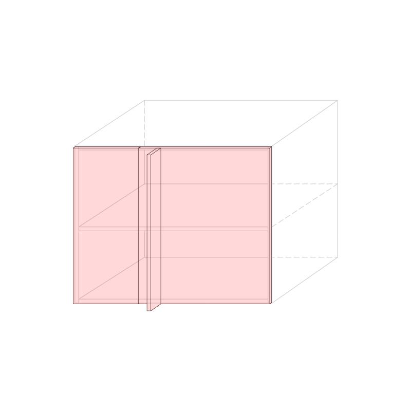 LARA - Linear corner base cabinet L900 - Anta 300