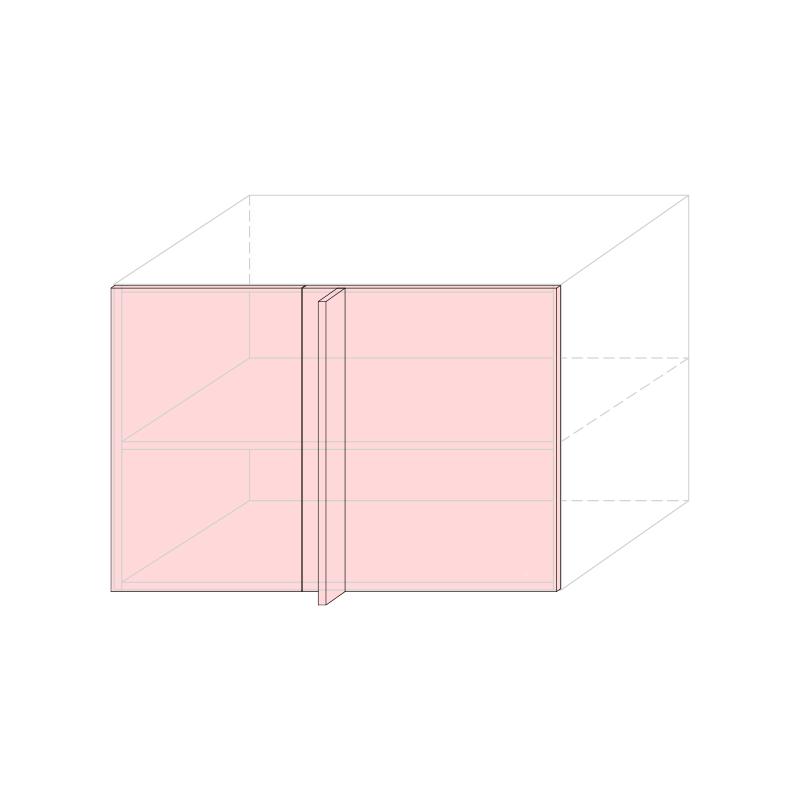 LARA - Linear corner base cabinet L1050 - Anta 450