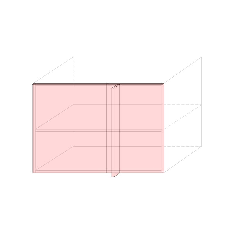 LARA - Linear corner base cabinet L1050 - Anta 600