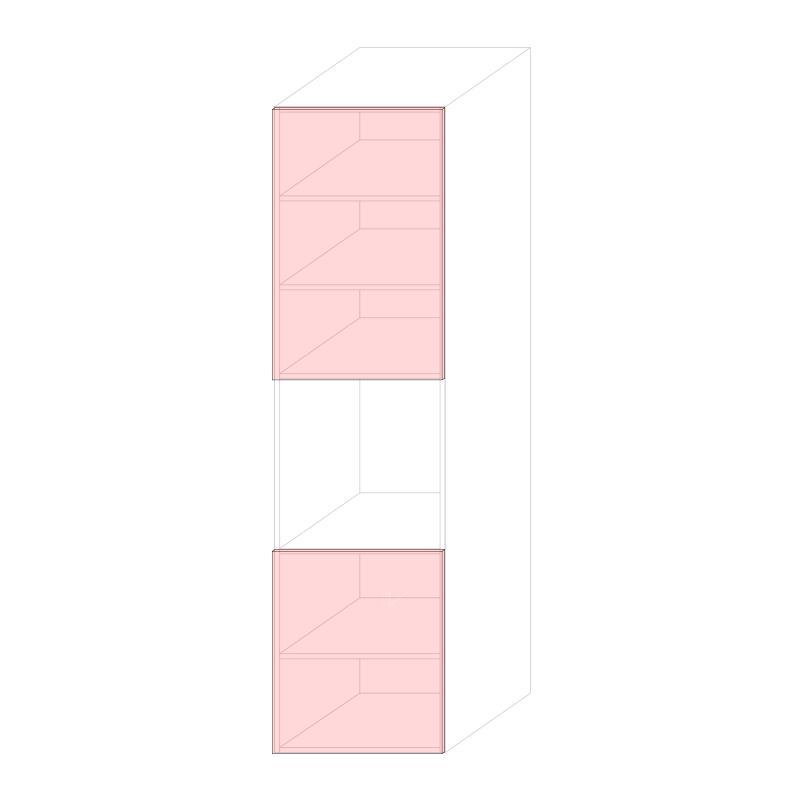 LARA L600 - Tall oven cabinet H2280