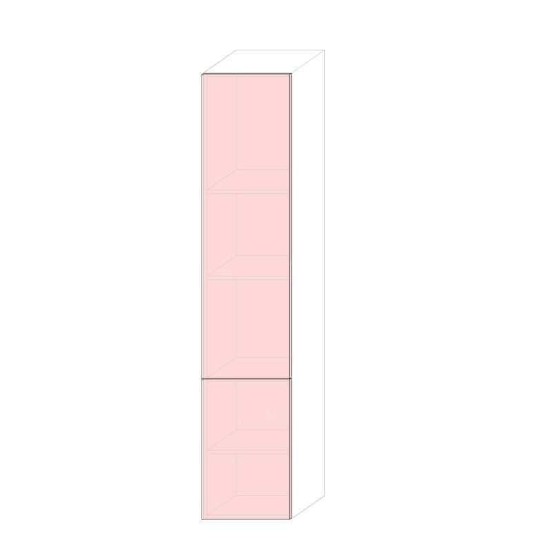 LARA L450 - Tall larder cabinet H2280 Depth 340